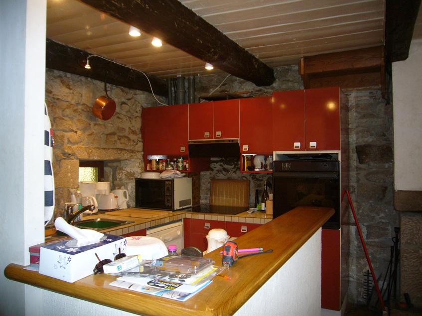 Before- Conception, Création et Pose d'une cuisine